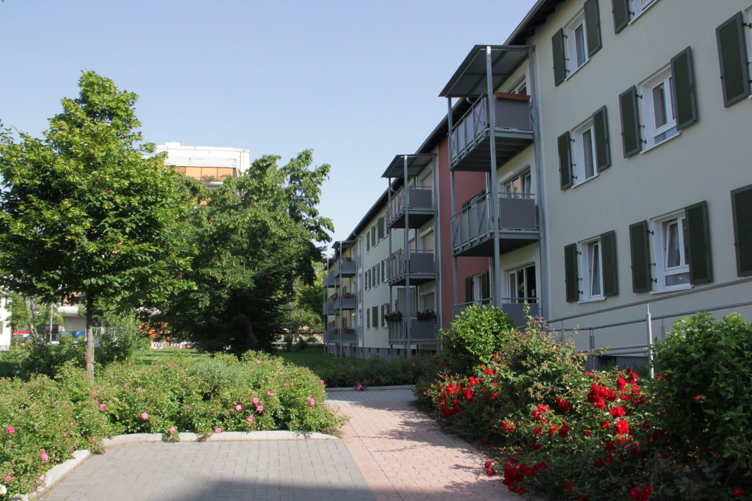 Häuser Landwehrstraße